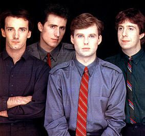 Orchestral Manoeuvres in the Dark (aka OMD) were a Sheffield-based synthesizer band dounded in 1978 by Andy McCluskey (bass/vocals) and Paul Humphries (keyboards/vocals). The band garnered several hit singles in the UK and US before breaking up in 1989.