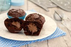 Muffin cioccolato e Nutella cremosa che non affonda