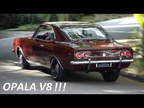 Garagem do Bellote TV: Opala com motor V8 (quadrijet, flowmaster 10, 320...