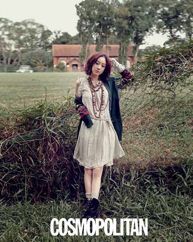 Jung Ryeo-won // Cosmopolitan Korea // July 2013