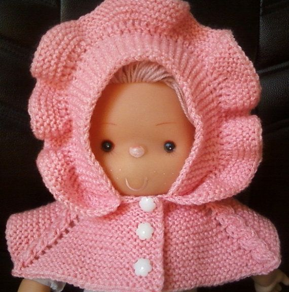 hand made pink knitted  hat  for baby girl от BaByPrOdUcTsByGaLiNa