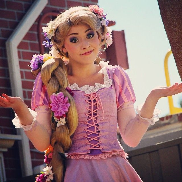 Rapunzel - she is probably the best actress to play her!