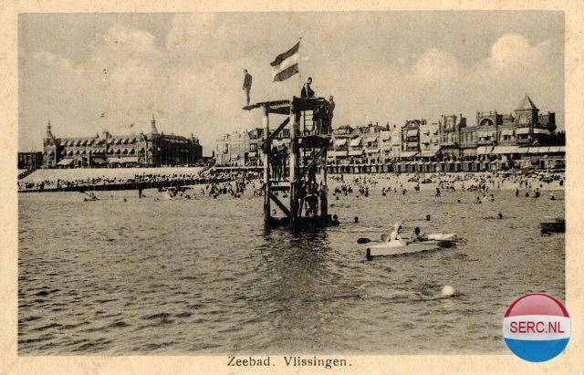 Boulevard Bankert Vlissingen (jaartal: 1930 tot 1940) - Foto's SERC