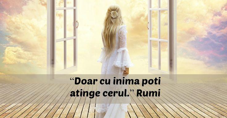 10 lectii de viata pline de intelepciune oferite de Rumi
