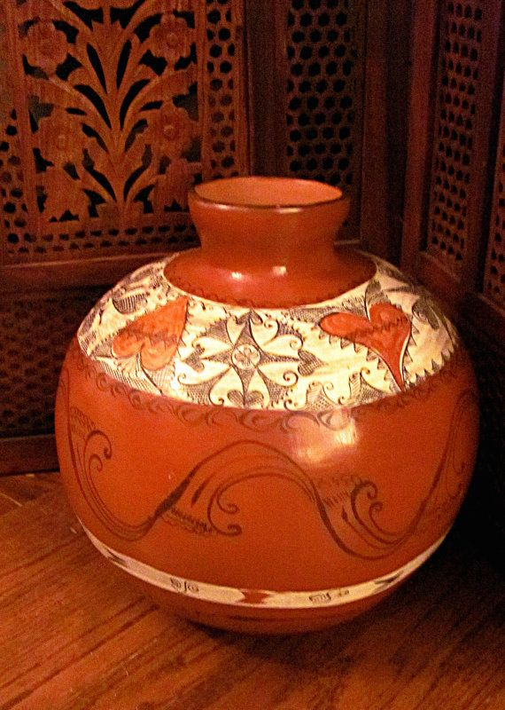 Vintage Mexican Wedding Pot
