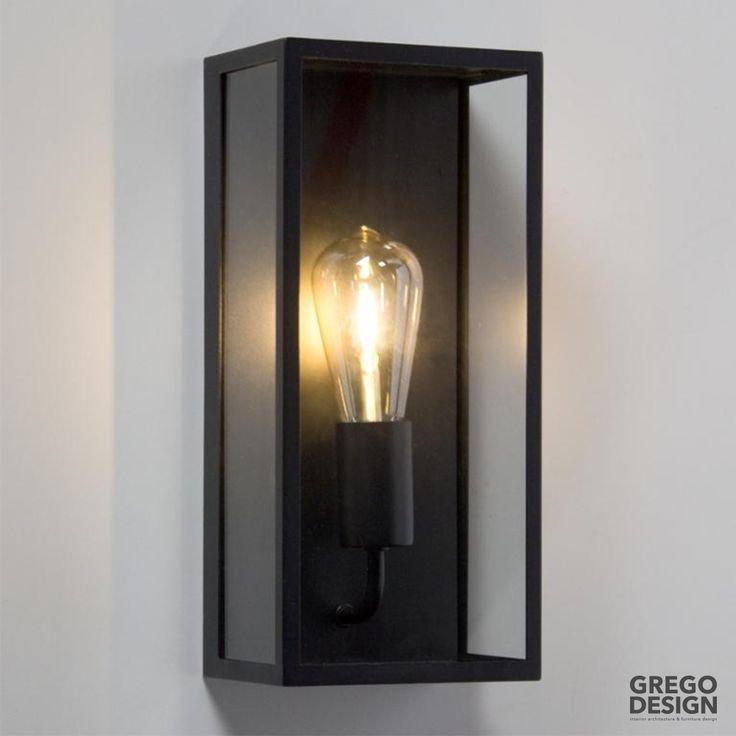 Wall Frame Black. Onze Favoriete Wandlamp Voor Binnen Als Buiten. Het Model  Stamt Af