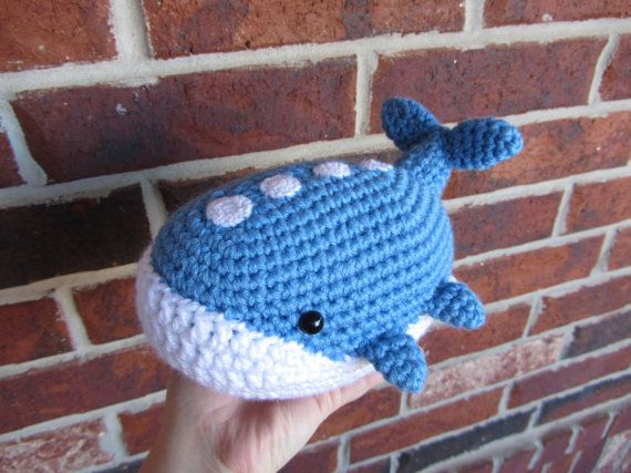 Made to Order - Crochet - Chibi Pokemon Amigurumi - Wailord by corlista on Etsy