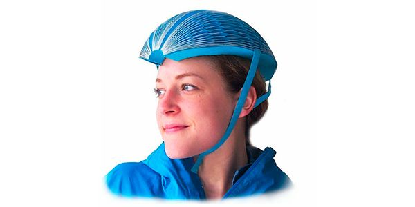 EcoHelmet: capacete para ciclistas, inovador, feito de papel!  - greenMe.com.br