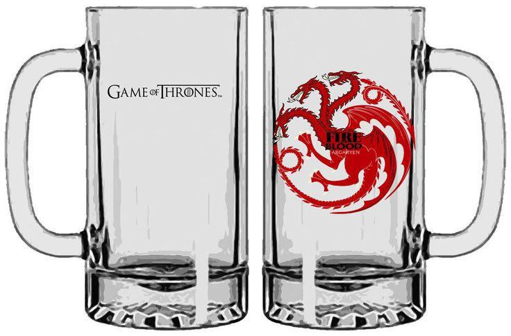 Game of Thrones Bierglas Targaryen NEU OVP