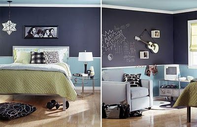 inspiration chalkboard paint for office