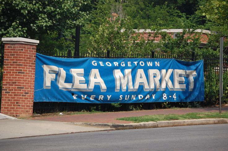 Flea Market Georgetown DC | FLEA DC: Georgetown Flea Market - BrightestYoungThings - DC