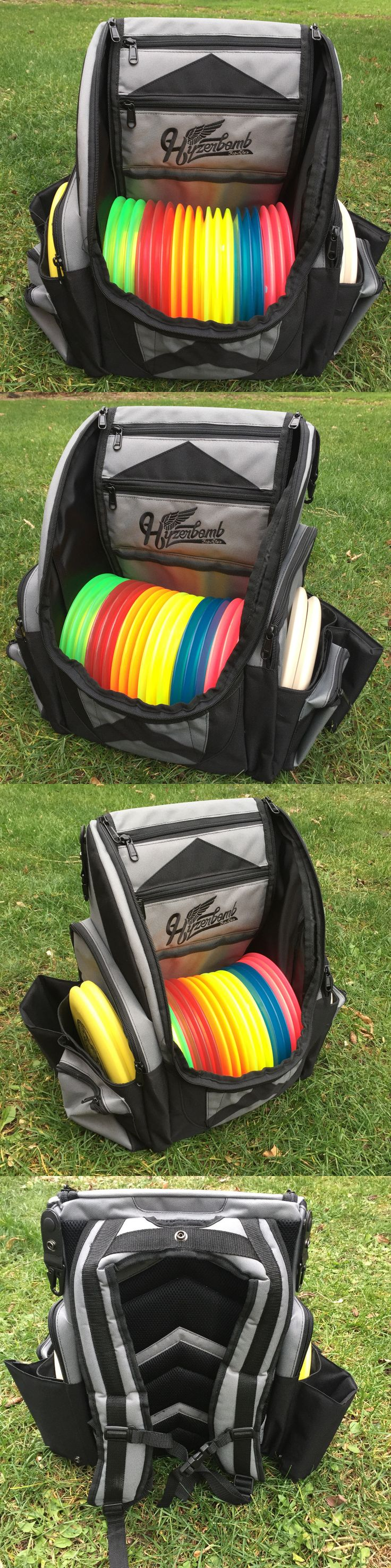 Disc Golf 20851: Wingz Disc Golf * Brand New Millenium Hyzerbomb Flakx Backpack 25+ Discs * Gray -> BUY IT NOW ONLY: $165 on eBay!