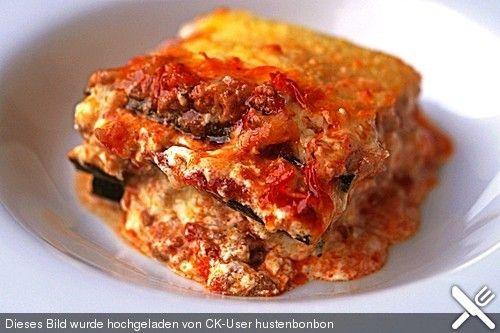 Zucchini - Lasagne