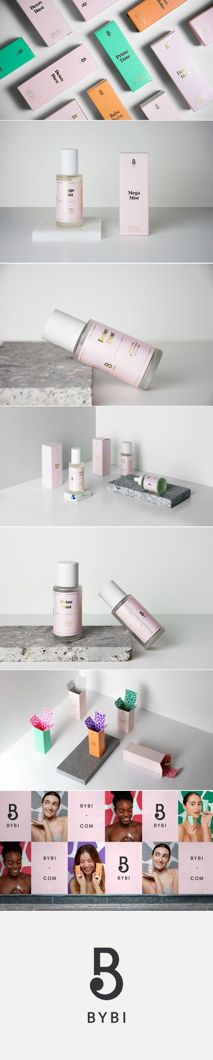 BYBI Skincare's Packaging Stands Out With Its Atypical Use of Color — The Dieline | Packaging & Branding Design & Innovation News