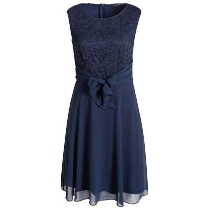 Schönes dunkelblaues Kleid von Esprit.