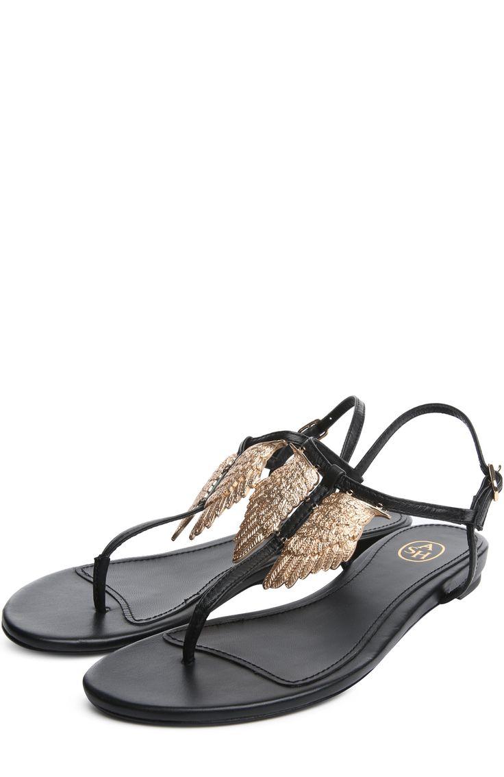 Женские черные сандалии Ash, арт. 1AH.AH39293.K купить в ЦУМ | Фото №2