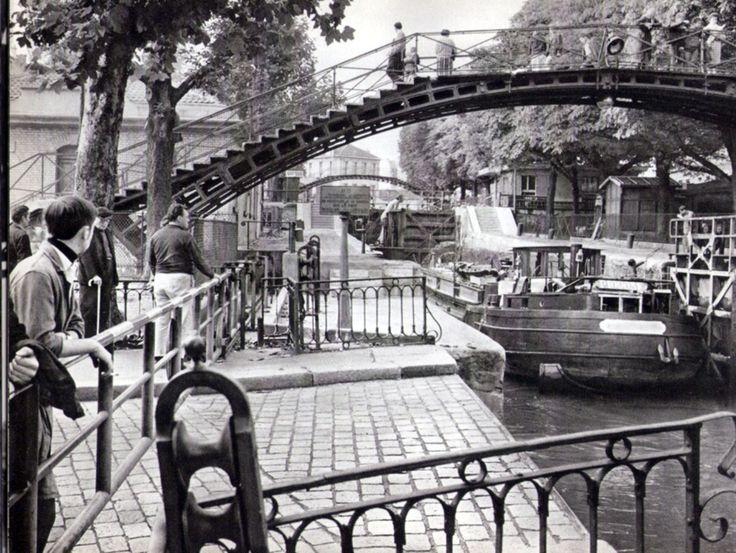 LE CANAL ST MARTIN PHOTO PATRICE MOLINARD