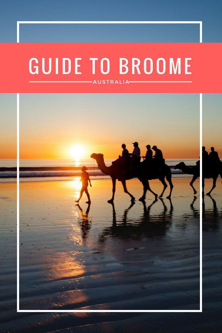 Everything you need to know about visiting Broome Australia! All the top things to do in Broome, visiting Broome with kids and best places to stay in Broome