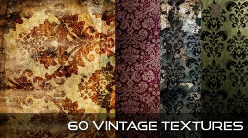 free vintage damask fabric textures