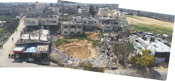 'Black Friday': Carnage in Rafah during 2014 Israel/Gaza conflict  http://www.forensic-architecture.org/