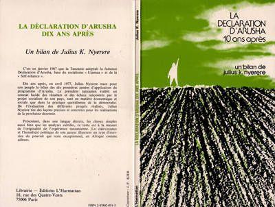 La Déclaration d'Arusha dix ans après, bilan et perspectives