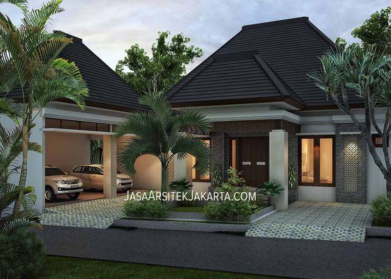 Desain Rumah 4 kamar Luas 330 m2