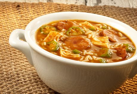 One taste of this fabulous gumbo and you'll think you're in New Orleans! The Cajun flavor infused broth adds incredibletaste to the sausage, chicken and vegetables. Serve this at your next party for an impressivedish that's sure to be a hit with your guests!