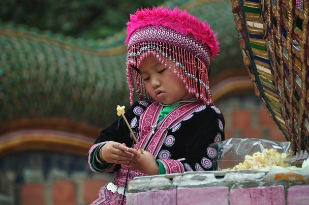 Hmong Girl. Photo and caption by Saskia Gindraux. Location: Chang Mai, Thailand