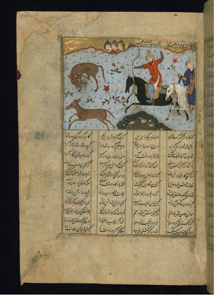 Bahram Gur Kills a Wild Ass Before Fitnah