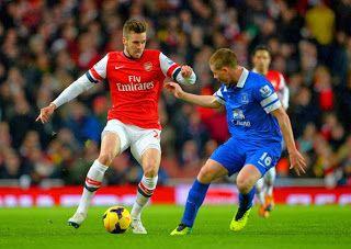 Hasil Pertandingan Liga Inggris Arsenal Vs Everton Berakir Imbang 1 – 1