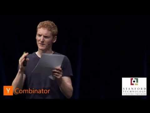 Patrick Collison at Startup School 2012 | Intervu.us