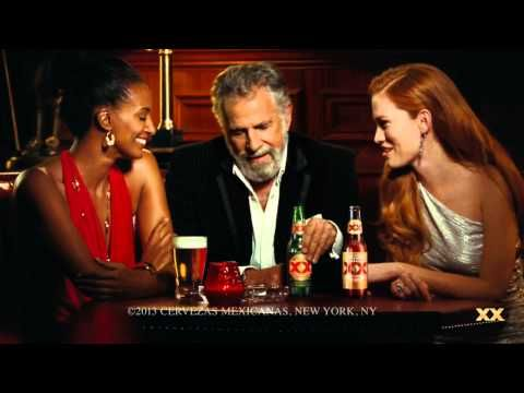 Dos Equis Most Interesting Man in the World Plays Handball - YouTube