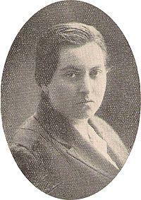 Gabriela Mistral, en 1925