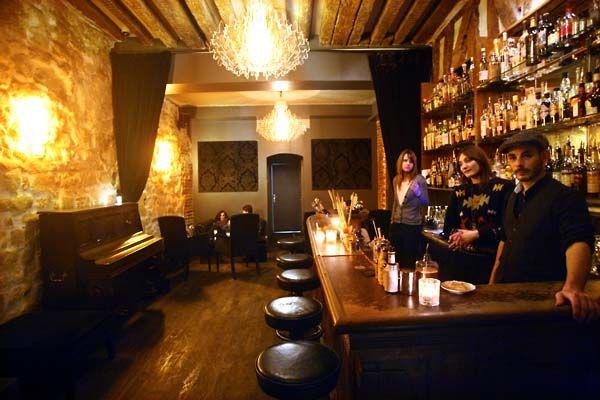 Experimental Cocktail Club ◄► 37 Rue Saint-Sauveur