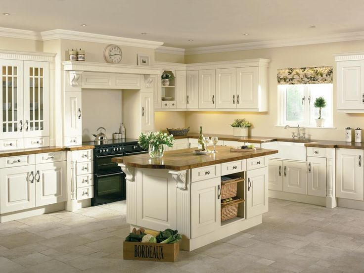 Ivory Kitchens Design Ideas Part - 27: Dovetail Fitted Furniture Are A Traditional Ivory Furniture Design Company  Based In Limerick. We Specialise In Traditional Prague Ivory Kitchen Designs .