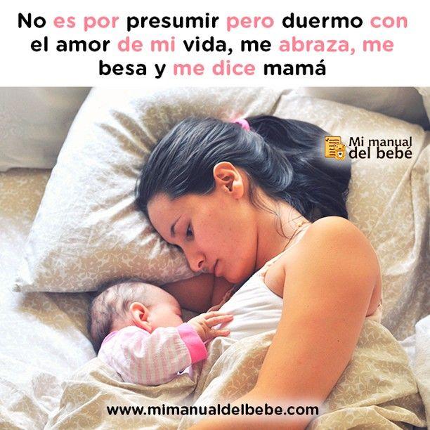 Cuántas Duermen Con El Amor De Su Vida Mimanualdelbebe Bebe Amor Vida Madre Maternidad Felicidad Hijos Dormir Descanso Baby Face Face Baby
