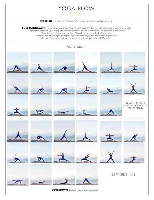 power yoga poses sequence pdf