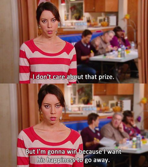 "The 20 Most Relatable April Ludgate Quotes From ""Parks And Recreation"" - BuzzFeed Mobile. This is me, 100%."