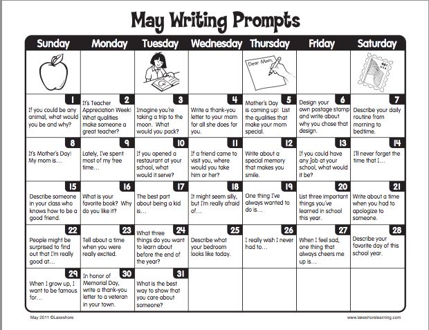 June Calendar Writing Prompts : Best rd grade writing prompts ideas on pinterest
