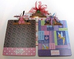 Personalized Kid Gifts:  Decorated Clipboards
