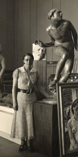 Rose Valland, who helped track and recover the art objects shipped through Paris during the Nazi invasion and occupation.