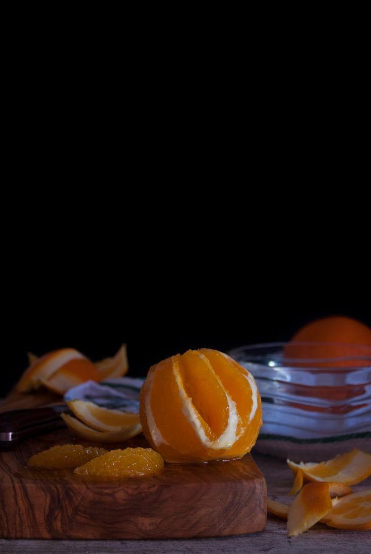 La asaltante de dulces: Cómo sacar gajos limpios de una fruta/ How to extract clean clusters of a fruit