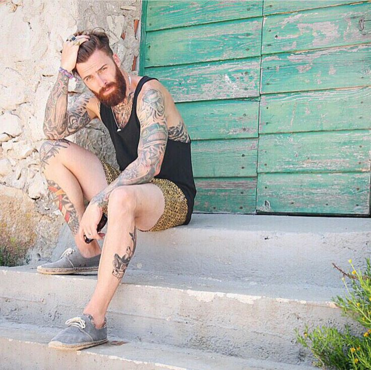 I Believe in Beards — Levi Stocke photographed by Gregory Dava.