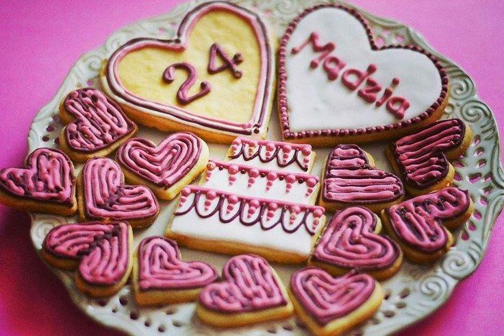 Urodzinowe ciasteczka Birthday cookies