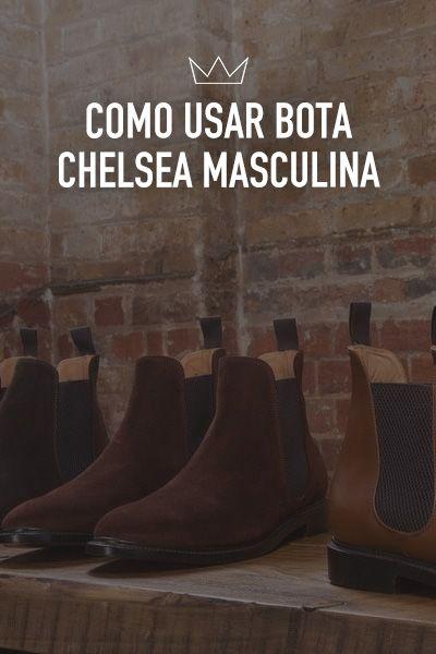 253e06b2d Como usar bota Chelsea masculina [+12 fotos | Moda Masculina | Botas ...