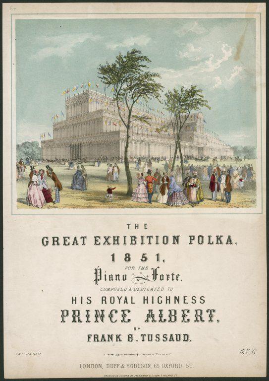 1851 Great Exhibition Polka via @Albert_PrinceC