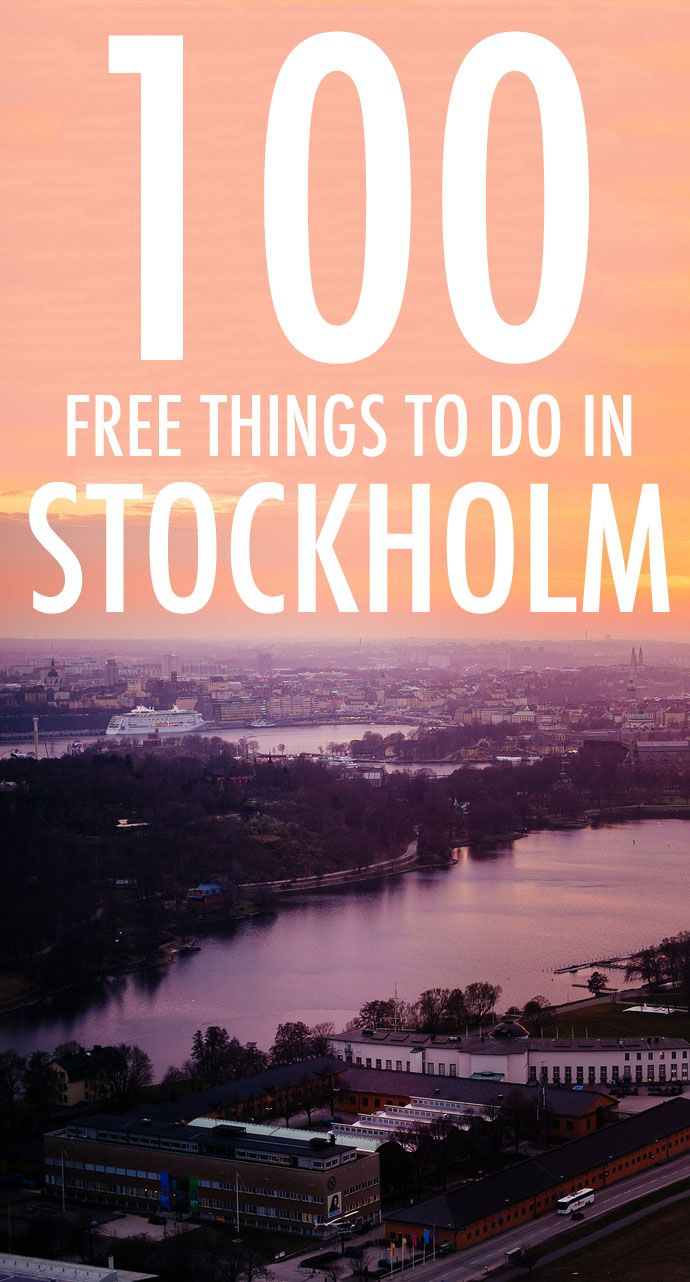 Want to see the Swedish capital without blowing your budget? Here are 100 cheap and free things to do in Stockholm. (Top Summer)