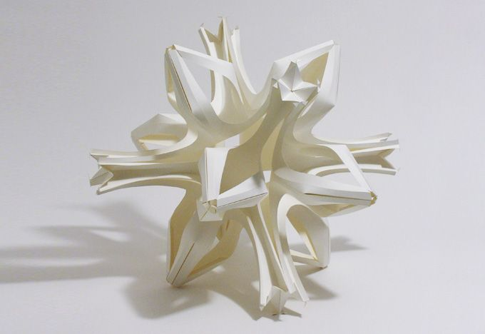 3D paper sculpture  by- Richard Sweeney