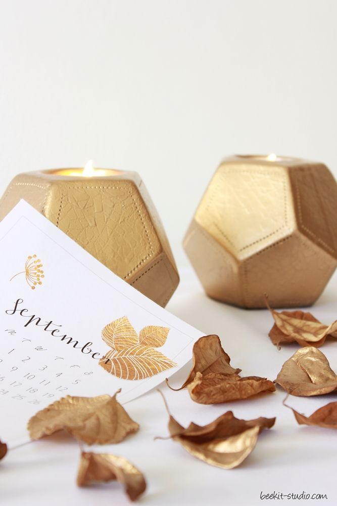 FREE September calander printable from Beekit Studio - styling & photography Debrah Mindel