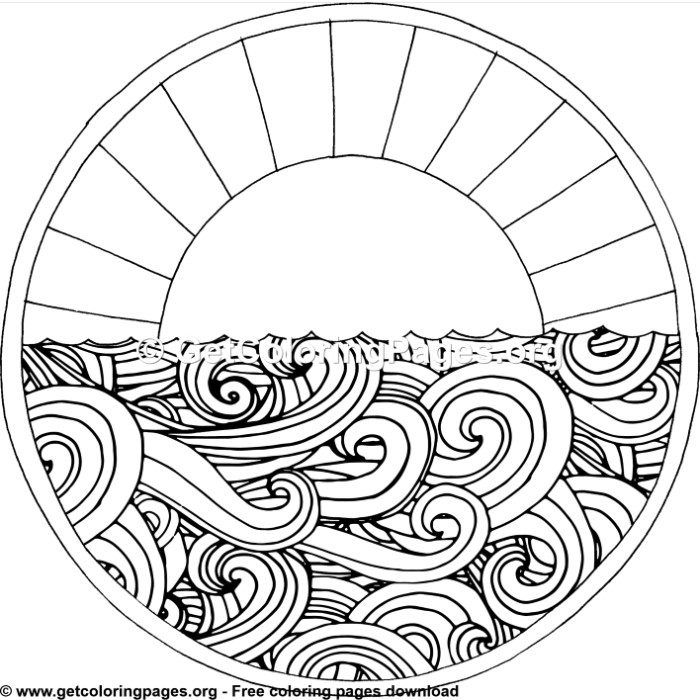 Circle Design 4 Coloring Pages Coloring Pages Free Coloring Pages Embrodiery Patterns